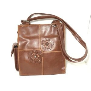 JORDI Handbag Women Shoulder Purse Brown Bag